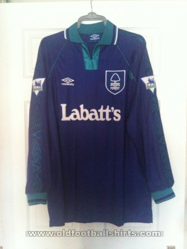 Nottingham Forest Away football shirt 1994 - 1995