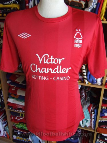 Nottingham Forest Home football shirt 2010 - 2011