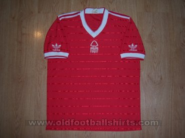 Nottingham Forest Home футболка 1984 - 1986