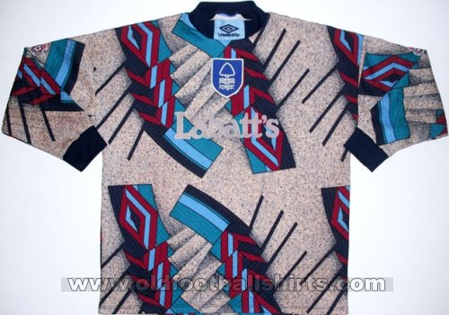 Nottingham Forest Keeper  voetbalshirt  1993 - 1994