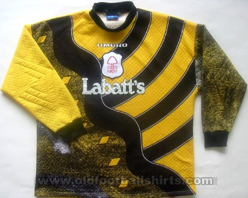 Nottingham Forest Goalkeeper football shirt 1996 - 1997