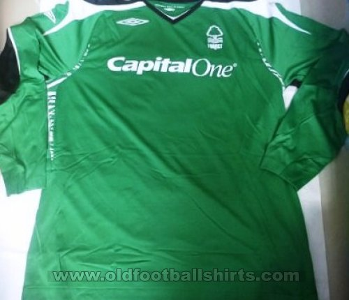 Nottingham Forest Keeper  voetbalshirt  2007 - 2008