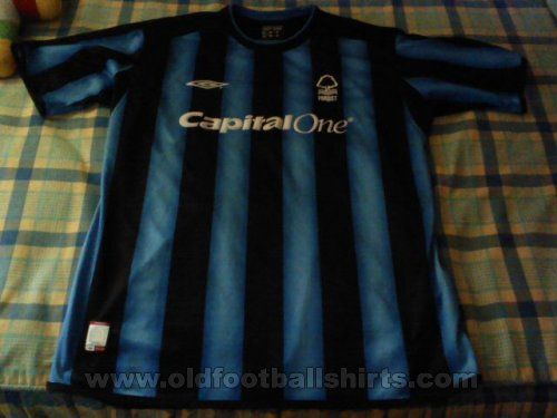 Nottingham Forest Third football shirt 2003 - 2005