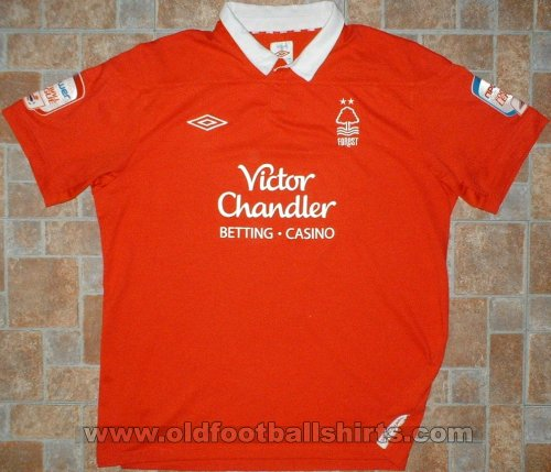 Nottingham Forest Home baju bolasepak 2011 - 2012