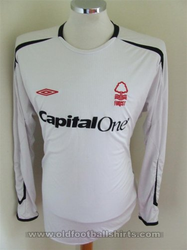 Nottingham Forest Goalkeeper football shirt 2005 - 2006