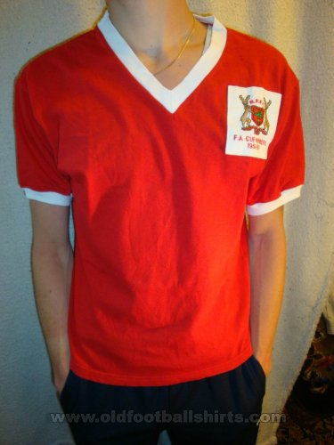 Nottingham Forest Home baju bolasepak 1958 - 1959