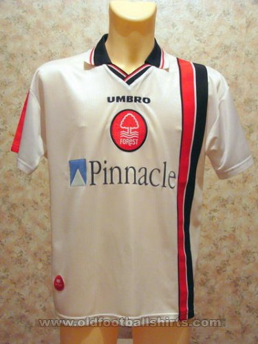 Nottingham Forest Away baju bolasepak 1997 - 1999