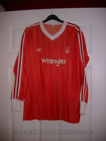 Nottingham Forest Local Camiseta de Fútbol 1982 - 1984