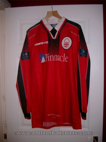 Nottingham Forest Home football shirt 1997 - 1998