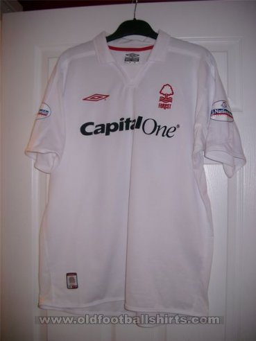 Nottingham Forest Away football shirt 2003 - 2005