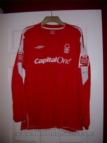 Nottingham Forest Home Camiseta de Fútbol 2004 - 2006