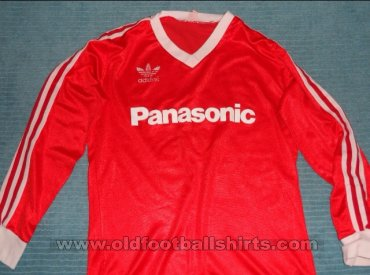 Nottingham Forest Home voetbalshirt  1982 - 1983