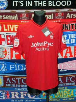 Nottingham Forest Домашняя футболка 2012 - 2013