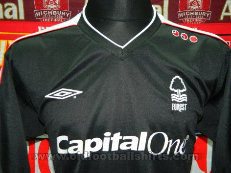 Nottingham Forest Третья футболка 2008 - 2009