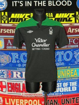 Nottingham Forest Third football shirt 2011 - 2012