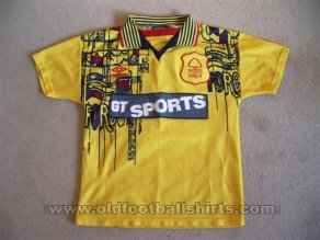 Nottingham Forest Away baju bolasepak 1996 - 1997