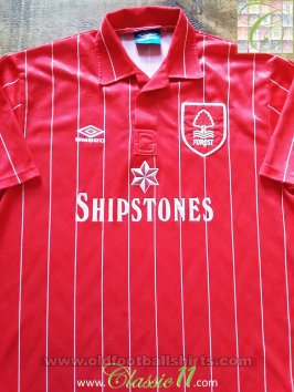 Nottingham Forest Domicile Maillot de foot 1992 - 1994