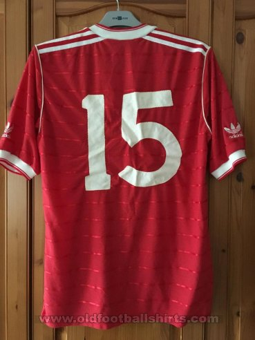 Nottingham Forest Home Maillot de foot 1984 - 1986
