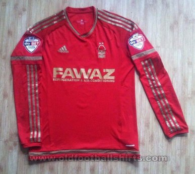 Nottingham Forest Home football shirt 2015 - 2016