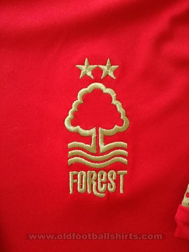 Nottingham Forest Домашняя футболка 2015 - 2016