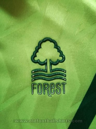 Nottingham Forest Third football shirt 1991 - 1993