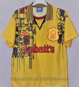 Nottingham Forest Away football shirt 1995 - 1997