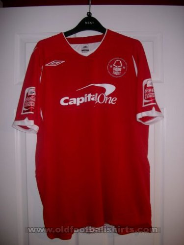Nottingham Forest Local Camiseta de Fútbol 2008 - 2009