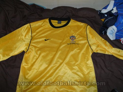 Worthing Away football shirt 2003 - 2004