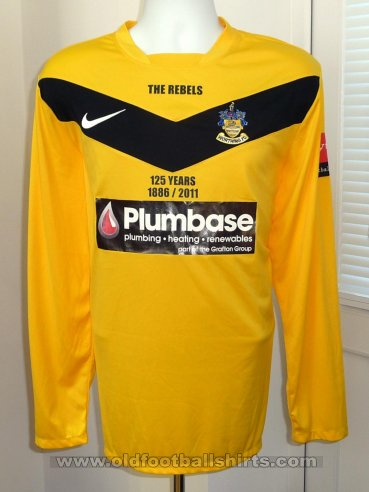 Worthing Away football shirt 2011 - 2012