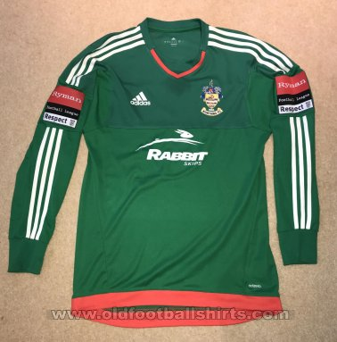 Worthing Goalkeeper football shirt 2015 - 2017
