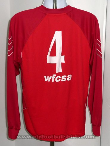 Worthing Home football shirt 2007 - 2008