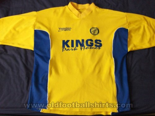 Canvey Island Home football shirt 2002 - 2003
