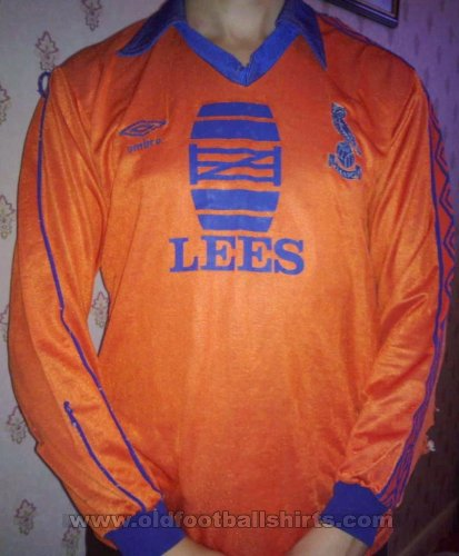 Oldham Athletic Away football shirt 1982 - 1983