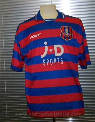 Oldham Athletic Home Camiseta de Fútbol 1996 - 1998