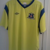 Third football shirt 2012 - 2013