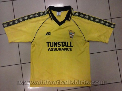 Port Vale Away football shirt 1999 - 2000