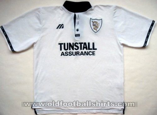 Port Vale Thuis  voetbalshirt  1997 - 1999