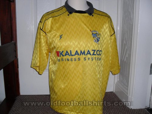 Port Vale Away football shirt 1990 - 1991