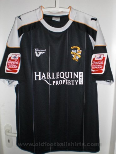 Port Vale Away football shirt 2009 - 2010