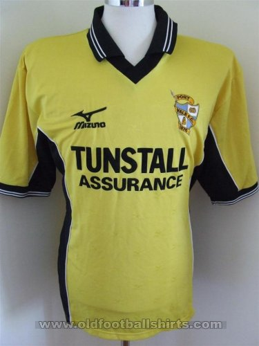 Port Vale Away football shirt 2000 - 2001