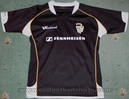 Port Vale Away футболка 2007 - 2008