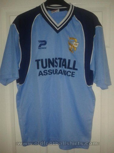Port Vale Away baju bolasepak 2001 - 2003