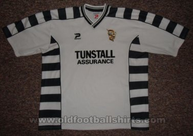 Port Vale Home football shirt 2001 - 2003
