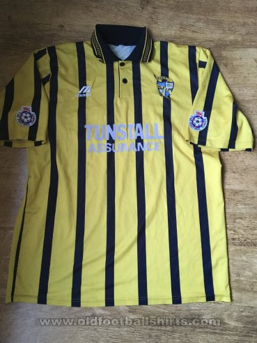Port Vale Away baju bolasepak 1995 - 1996