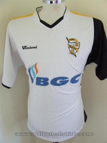 Port Vale Home football shirt 2006 - 2007