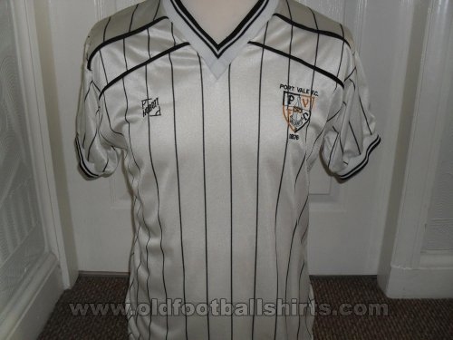 Port Vale Home football shirt 1984 - 1986