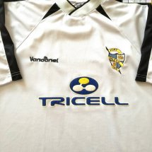 Port Vale Home Fußball-Trikots 2003 - 2005 sponsored by Tricell