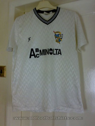 Port Vale Home football shirt 1988 - 1989