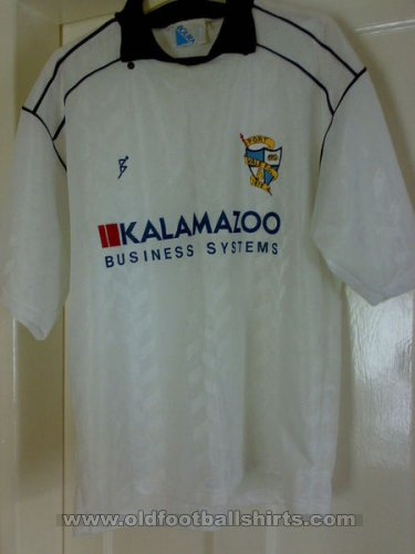 Port Vale Local Camiseta de Fútbol 1990 - 1991
