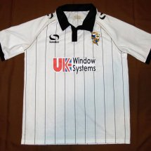 Port Vale Home Fußball-Trikots 2012 - 2013 sponsored by UK Window Systems